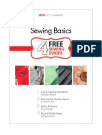 Sewing Basics From Sew News