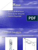 Types and Working Principle of Elevator