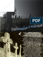 Traditionalism Si Modernism-romana