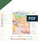 نقشه زمین شناسی جیرنده