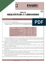 Enade 2008 - Arquitetura e Urbanismo