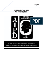 REFRIGERATION AND AIR CONDITIONING–I – SUBCOURSE OD1747 – EDITION A – ARMY CORRESPONDENCE COURSE PROGRAM