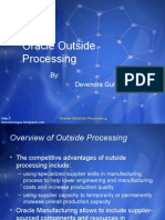 OutSide Processing Demo