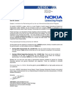 Sample proposal letter for partnership invitation for business partnership for mr sameer from nokia thecheapjerseys Image collections
