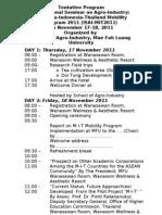 MIT Seminar Tentative Program Nov 2011 Revised October 27 2011
