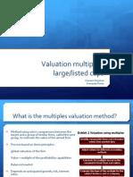 Presentation - Large Cap Multiples 1