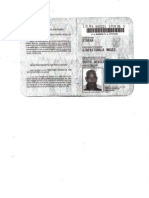 ID Copy of Moses Dineka