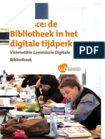 Interface-Visiedocument Digitale Bibliotheek