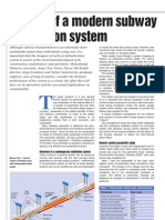 Design of Modern Subway Ventilation System