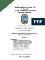 APLICACIÓN DE LA TRANSFERENCIA DE CALOR EN LOS  PROCESOS  PETROLIFEROS
