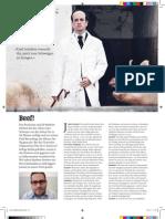 Matthew Herbert vs Peta in Visions Magazine