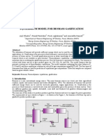 Equilibrium Model for Biomass Gasification