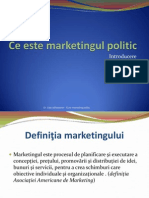 Ce Este Marketingul Politic