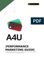 Affiliates4u Performance Marketing Guide 2011