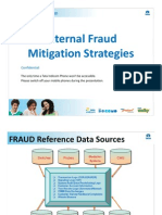 Internal Fraud Mitigation