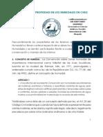 El régimen de propiedad en los humedales en Chile
