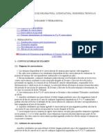 Estudios Oficiales de Diplomatura