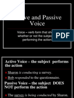 Active and Passive Voice (2)