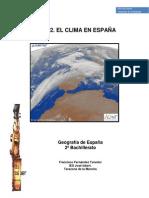 Tema 2 El Clima en España Tarazona