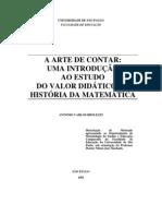 A Arte de Contar - Uma Introdução ao Estudo do Valor Didático da História da Matemática (Brolezzi, 1991)