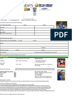 BSS Booking Form 2007