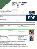 BSS Booking Form Half-Term 2007