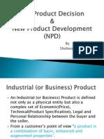 B2B Product Decision & New Product Development