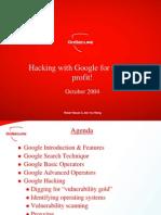 Google Hacking Gs1004