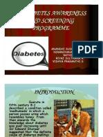 Diabetes Awareness and Screening Programme
