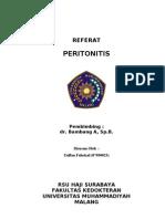 Peritonitis - Zulfan