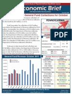 Rep. Brown November 2011 Economic Brief