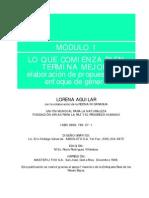 Elaborar proyectos con género (Manual UICN, L. Aguilar)