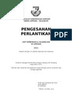 SIJIL@ Surat Perlantikan PRS 2011