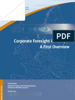 St Corporate Foresight 040109