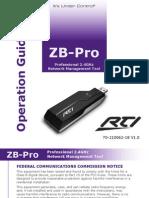 Manual ZB PRO