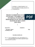 Hdfc Project Mcom
