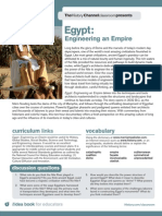 Engineering Empire Egypt Study Guide