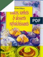 Anne Wilson-Glaces Sorbets Et Desserts