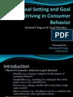 Goal Setting and Goal Striving in Consumer Behavior