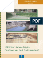 Sediment Basin Design_guidelines