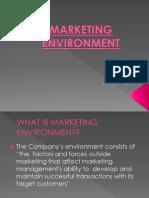 Marketing Enviornment