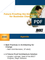 Future Proofing the Enterprise for Business Change