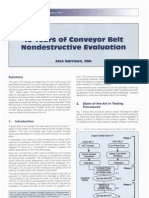 15yrs of Conv Belt Nondestructive Eveluation