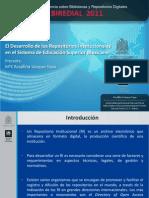 El Desarrollo de los Repositorios Institucionales en el Sistema de Educación Superior Mexicano