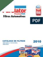 Catalogo Purolator 2010
