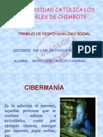 DIAPOSITIVAS CIBERMANIA