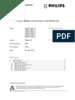 Philips SPD2413P Update to GP03 Information