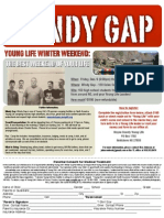 Windy Gap Flyer 2011