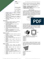 Objetivos avaliação poliedros, cilindros e prismas.