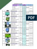 LCD Monitor Pricelist